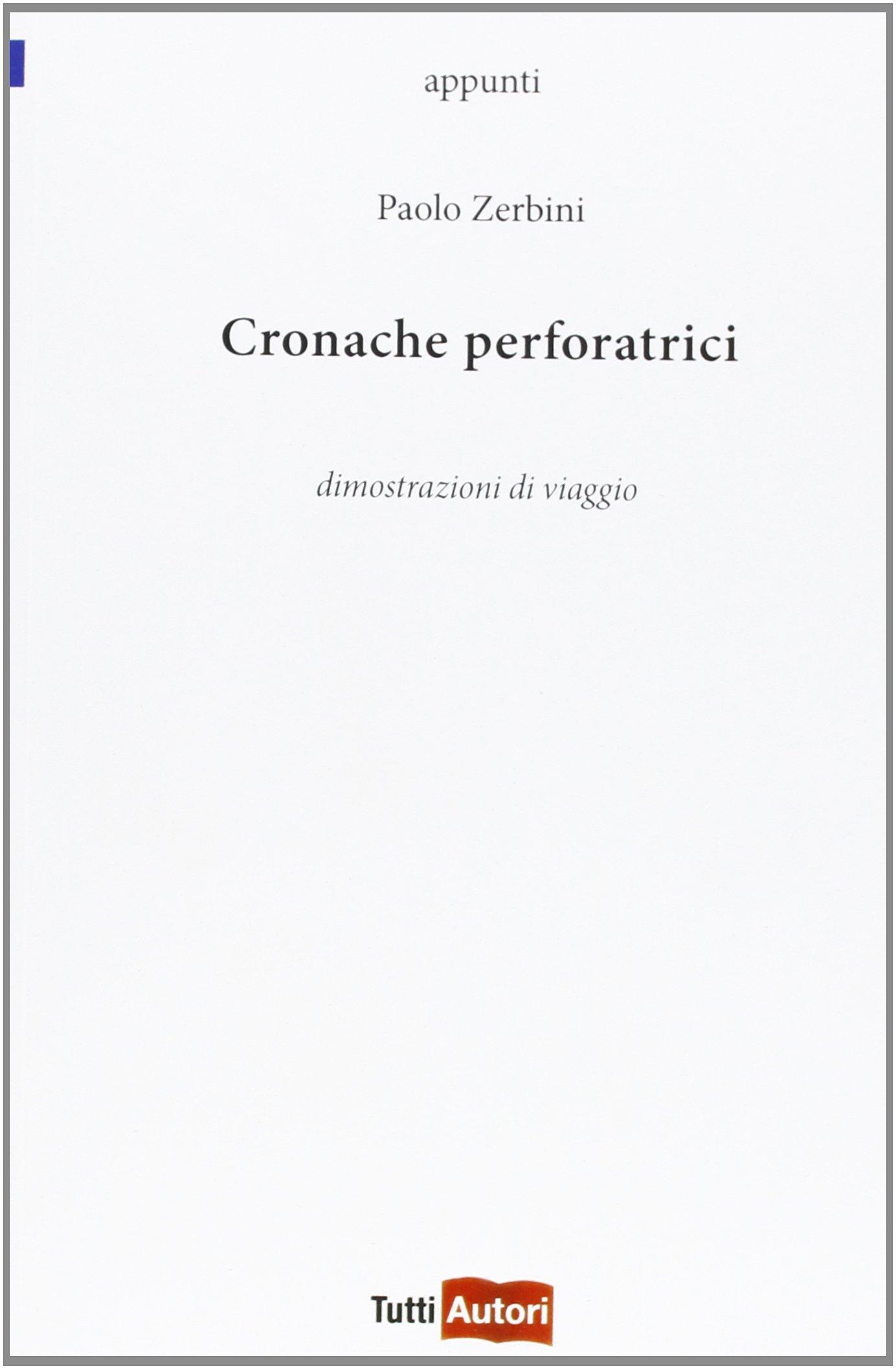 Cronache Perforatrici - Copertina
